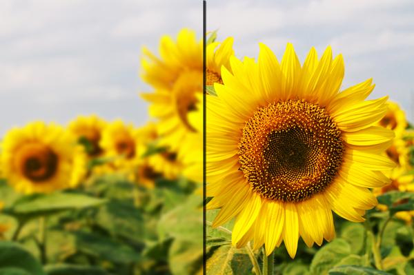 how to create a sharp image