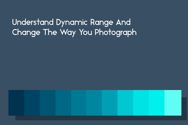 Understand dynamic range to improve the quality of your photos