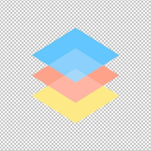 cutting out object in layer mask checkered background