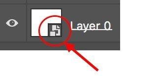 smart object layer masks