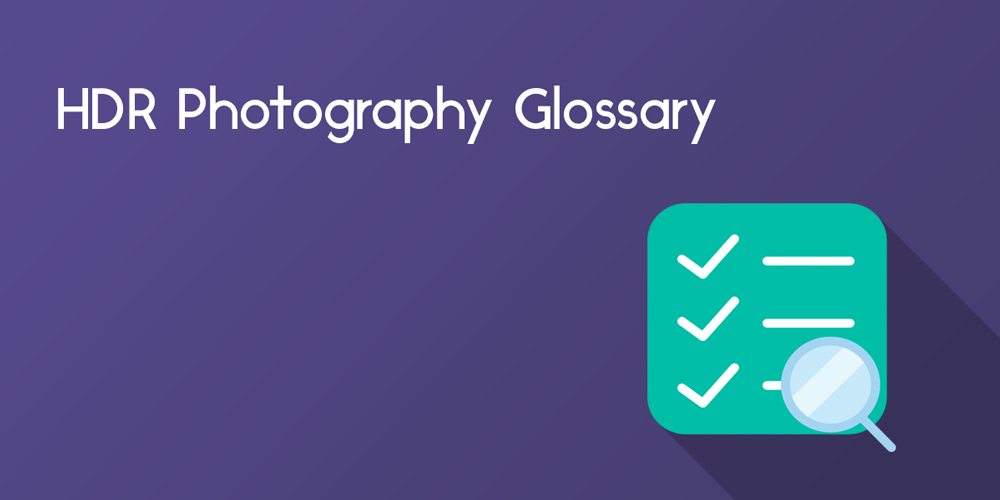 hdr photography glossary