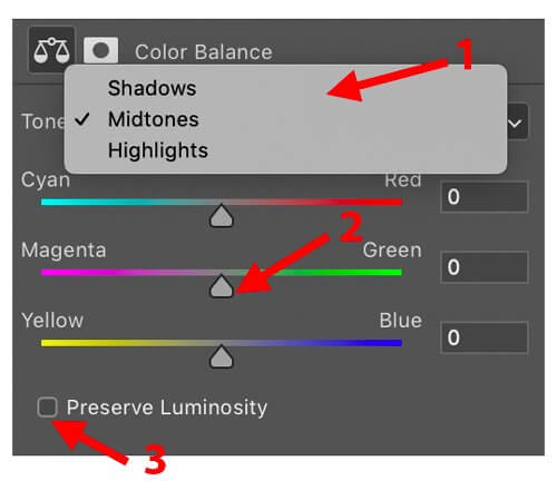 color balance color analysis for photographers